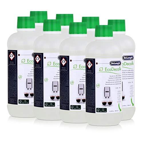 DeLonghi ontkalker EcoDecalk voor koffieautomaten DLSC500/8004399329492, verpakking van 8 stuks