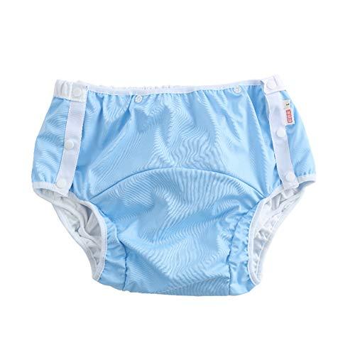 QINAIDI Pañales Impermeables y Transpirables a Prueba de Fugas para Adultos, Pantalones...