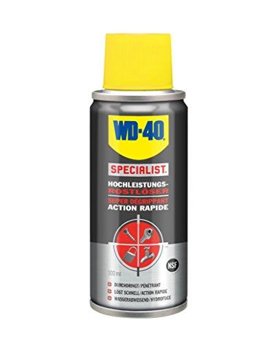 WD 40 Specialist 49985 haute performance 15150005 Produit anti-rouille 100 ml, Lot de 100
