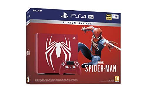 PlayStation 4 Pro - Console Edición Especial + Marvel's Spiderman