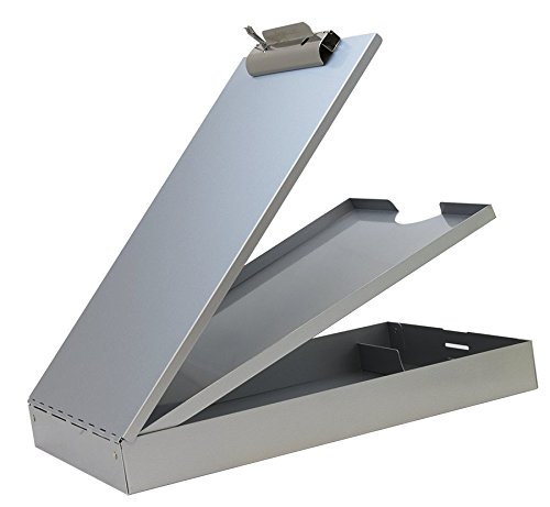 Saunders 21017 Recycled Aluminum Cruiser Mate Storage Clipboard – Lightweight, Heavy Duty, Dual Storage Paper Holder. Storage Clipboard
