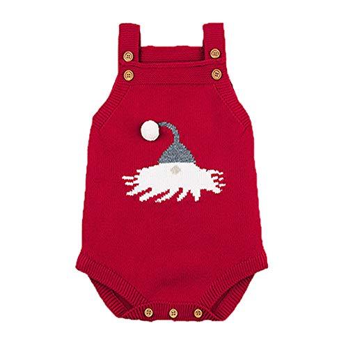 QIQI Maglioni a Maglia per Bambini, Cappelli di Natale per Bambini Fionda Borsa Hip Tuta Caldo Cappotto Autunno e Abbigliamento Invernale Ragazza