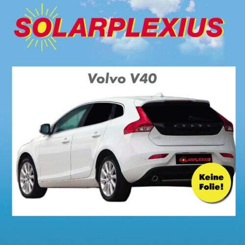 Solarplexius Sonnenschutz Autosonnenschutz Scheibentönung Sonnenschutzfolie Volvo V40 ab Bj. 12