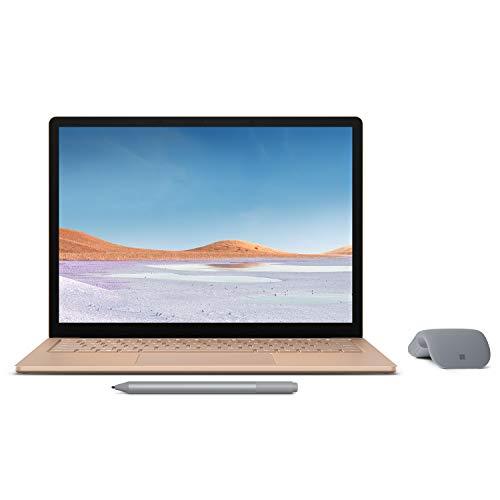 【Microsoft ストア限定】3点セット: Surface Laptop 3 13.5インチ / Core-i5 / 8GB / 256GB サンドストー...
