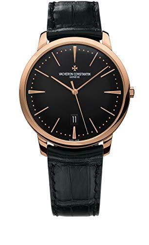 Vacheron-Constantin Patrimony Rose Gold Black Dial 40mm Watch