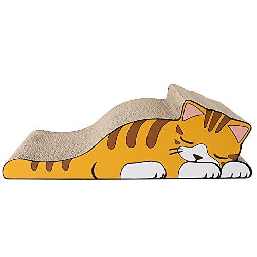 GYAM Scratch per Gatti, Raschietto Resistente all'Usura Cartone Ondulato, Giocattoli per Gatti per artoni, Forniture per Gatti, con Catnip 1 Pack
