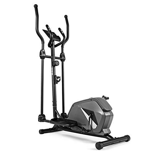 Xylo Crosstrainer für Zuhause Heimtrainer Ellipsentrainer Ergometer Stepper Fitness Magnetisch 8 Stuffige Wiederstandeinstellung mit Tablet-Halterung