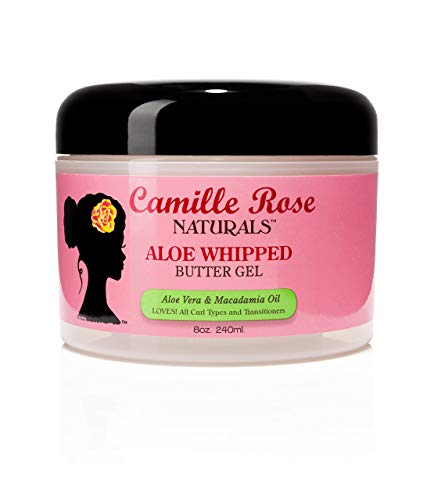 Camille Rose Naturals Aloe Whipped Butter Gel, 8 Ounce by Camille Rose