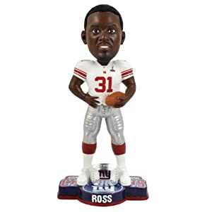 NFL New York Giants Super Bowl XLVI Champions Ring Bobble, A. Ross