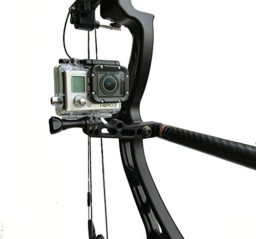 Bowfinger Archery ZX5 Bow Camera Mount Compatible with GoPro Cameras