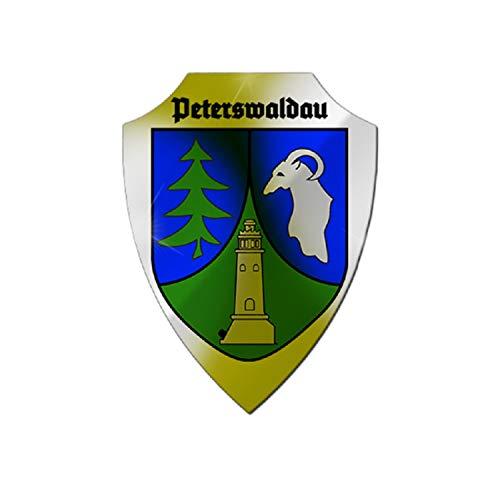 Copytec Aluschild Peterswaldau Schild Schlesien Niederschlesien Breslau Polen #25703