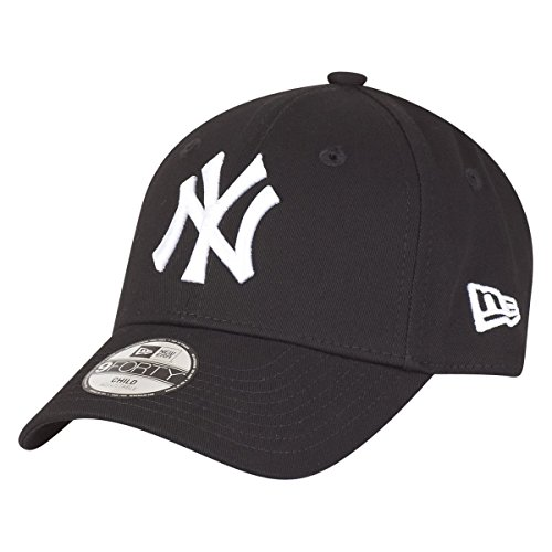 New Era 9Forty Stretched Kids Cap - NY Yankees schwarz Youth