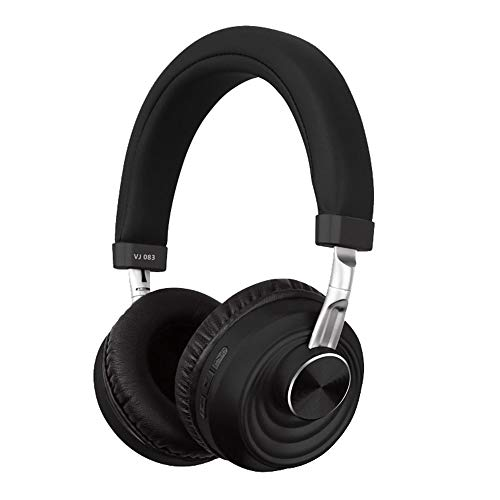 YFC 5.0 Bluetooth headset,Wireless Gaming Headphone,Noise Cancelling Microphone/Hi-Fi Stereo Bass/Memory Foam Ear Pads,forPS4/PC/PS4 Pro (Color : Black)