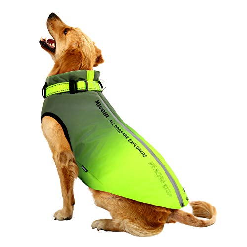 MIGOHI Dog Jacket Winter Jacket for Dogs Pet Coat for Hiking Water Resistant Reflective Lightweight Loft Jacket Sweater for Small, Medium, & Large Dogs