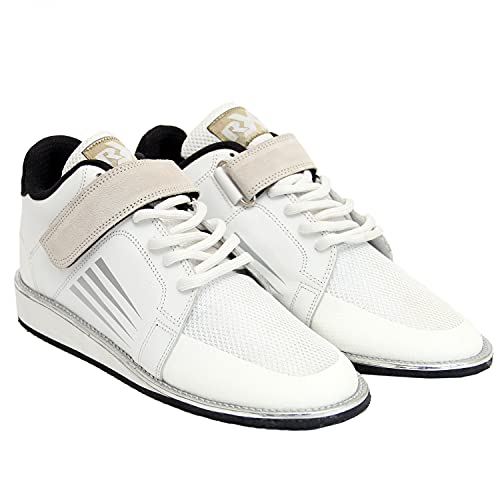 RXN Lifter Weightlifting Shoes for Mens (Numeric_7) White