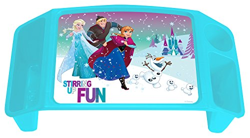 Frozen Disney Northern Lights Activity Tray with 2 Storage Wells & 1 Cup/Pencil/Crayon Holder