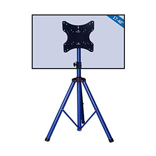 Soporte TV Ruedas Soporte TV Suelo Uno For Todos Los Stands De TV De Trípode Universal  Tamaño De La Pantalla 32-55 '- TV LCD / LED / PLASMA  360 ° Giratorio Y Altura Ajustable  VESA 400x400