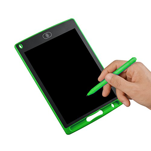 LCD Writing Tablet 8.5 Inch,Kids e-Writer Drawing Board, Portable Electronic Graphic Skectching Erasable Tablet Gifts Presents for Children, Green