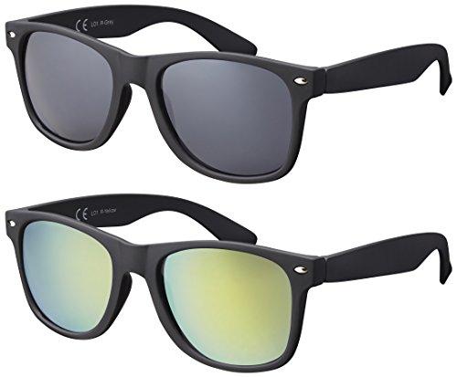 La Optica B.L.M. Occhiali da Sole UV400 CAT3 Uomo