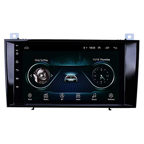 HP CAMP Sat NAV Doppel-DIN-Auto-Stereo Radio für Mercedes Benz SLK R171 W171 GPS Navigation Head Unit 9 Zoll-Digital-Multimedia-Player Videoempfänger DSP RDS,4 core,WiFi 1G+16G