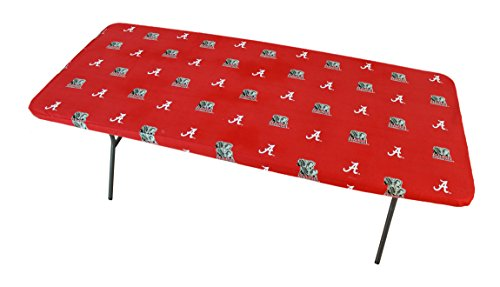 College Covers Alabama Crimson Tide Tailgate Fitted Tablecloth, 72