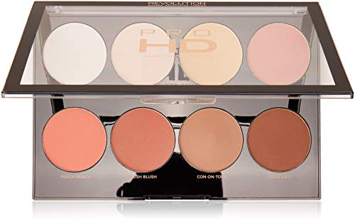 Makeup Revolution Make-uppalet, Pro HD Mega Matte palet