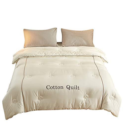 QUILT Mode Dicke warme Steppdecke, aus 100{d73aaec7d8bdfb49a74e8c0d5872e70eeaf2ee7aa8a09de636f8f0d13bd9f23b} Baumwolle Personalized Home Bed Cotton weich und warm, Alternative Tröster mit Reißverschluss, Maschinenwäsche (Größe : 180 * 200cm(3kg))