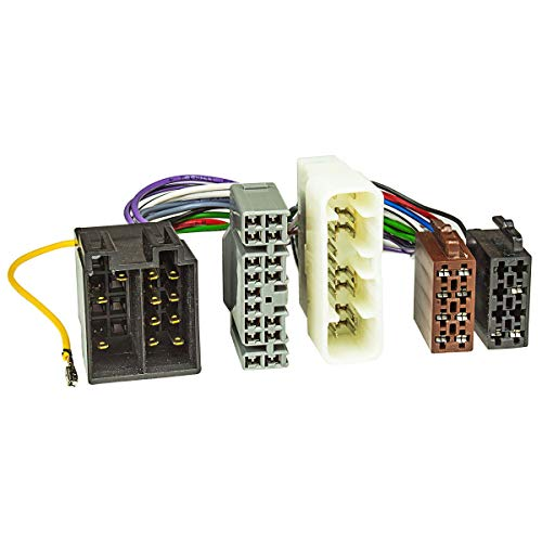 tomzz Audio 7321-000 T-Kabel ISO passend für Isuzu, Lexus, Toyota Landcruiser zur Einspeisung von Freisprecheinrichtung ISO Verstärker für THB Parrot Dabendorf i-sotec Match