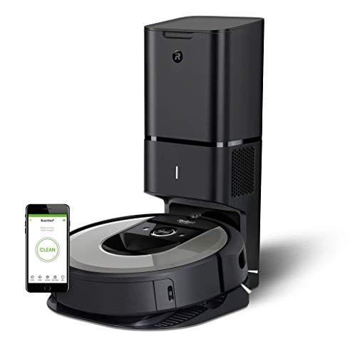 iRobot i7+ Roomba - Robot Aspirador Wi-Fi, Autovaciado,