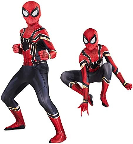 Aodai Kids Halloween Costume Compatible Superhero Costume Suits Kids Party Cosplay 3D Style product image