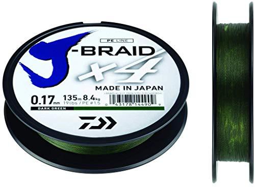 Daiwa J-Braid 4x Il miglior filo trecciato da pesca