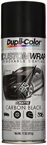 Dupli-Color ECWRC7947 Custom Wrap Matte Carbon Black