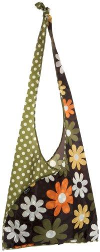 Envirosax Slingsax Messenger Bag,Daisy Dots,one size