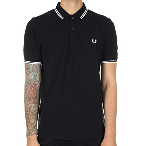 Fred Perry M3600-238-s Polo, Bleu (Navy 238), Small Homme