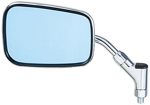 タナックス バイクミラー ナポレオン エーゼットフォーミラー シルバー ブルー鏡 左右共通 ネジ径10mm AZ4-101-10B