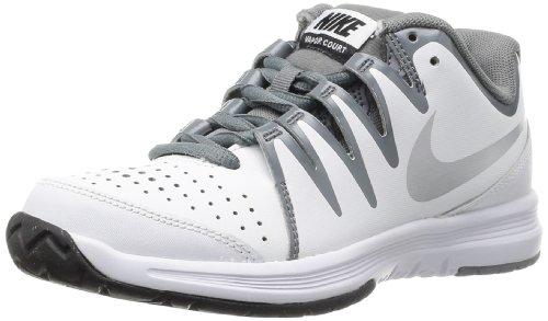 Nike - Vapor Court, Scarpe Da Tennis da donna, Bianco (Blanco (White / Metallic Silver-Cl Grey)), 42