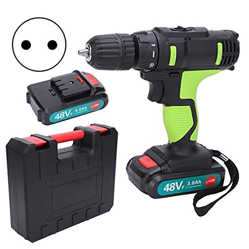 Taladro eléctrico, destornillador eléctrico práctico y flexible para taladrar agujeros o tornillos(transparency)