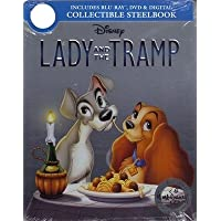 Lady and the Tramp Movie Signature Collection SteelBook Blu-ray DVD