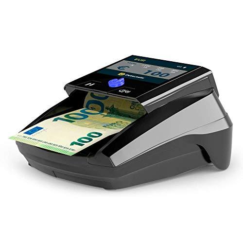 Detectalia D7 - Détecteur de faux billets avec 7 contrôles de contrefaçon et écran TFT