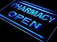 ADVPRO i614-b Pharmacy Drug Stores Display OPEN NEW Light Sign