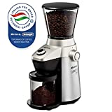 Ariete -Delonghi Electric Coffee Grinder - Professional Heavy Duty Stainless Steel, Conical Burr -...