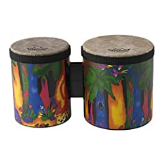 Brand: Remo Product Code: KD540001 bongo with 5 inch and 6 inch drums Acoustic on Shell Part of the Remo Kid's Percussion Collection