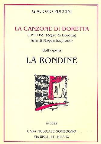 LA CANZONE DI DORETTA (LA RONDINE)