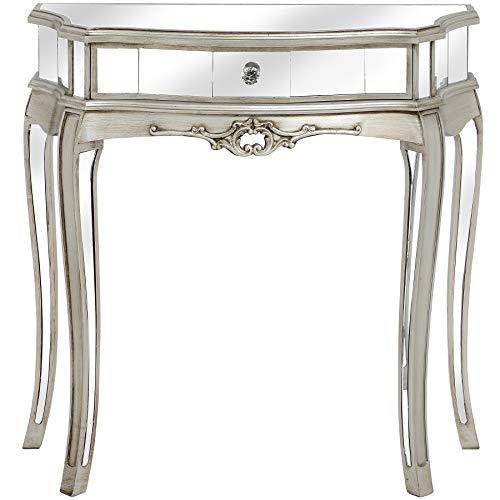Wandtisch verspiegelt Konsolentisch Glaskonsole Tischkonsole Beistelltisch Tisch vic508 Palazzo Exklusiv