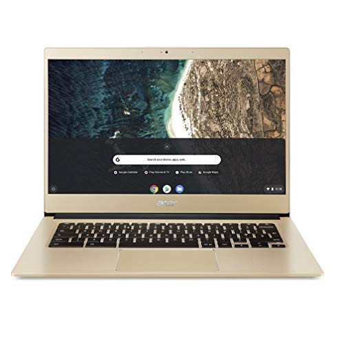 Acer Chromebook 14 CB514-1HT - (Intel Celeron N3350, 4GB RAM, 64GB eMMC, 14-Inch Full HD Touchscreen Display, Chrome OS, Gold)