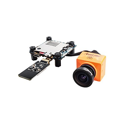 RunCam Split 2 FPV Camera Upgraded Version 2.5mm RC25G FOV130 1080P/60fps HD Recorder Support 64G TF Low Latency TV-Out with WDR WiFi for Multicopter