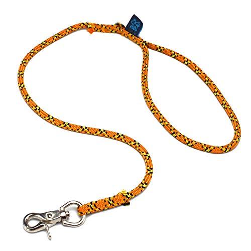 ドッグ・ギア ザイルリード タイプS ロープ径6mm 全長120cm オレンジ 「愛犬とのコミュニケーションを楽し...