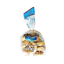 Nature's Grain Harlan Mini Plain Pre-Sliced Bagels - Frozen, 10 x 1.5oz