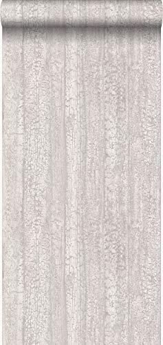 behang houtmotief donker beige - 347530 - van Origin - luxury wallcoverings