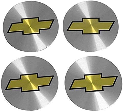 Tapas De Cubo De Rueda De 4 Piezas, Tapas De Centro De Cubo Con Pegatinas Con Logotipo, Accesorios De Coche, Para Chevrolet Captiva Colorado Cruze Spark Malibu Aveo Equinox Trax Impala Camaro Sail